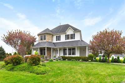 East Moriches Single Family Home For Sale: 18 Dogwood Ln