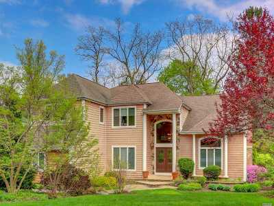 Dix Hills Single Family Home For Sale: 5 Saddle Brook Ct