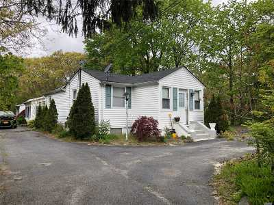 Manorville Multi Family Home For Sale: 310 Wading River Rd