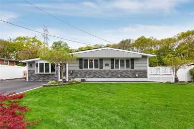 Ronkonkoma Single Family Home For Sale: 20 Kayron Dr