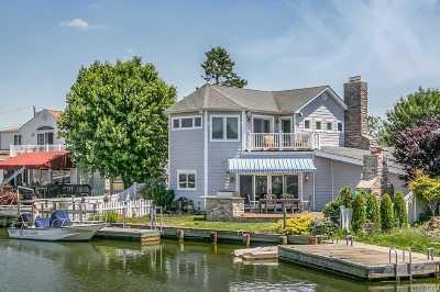 Massapequa Single Family Home For Sale: 96 Beach Rd
