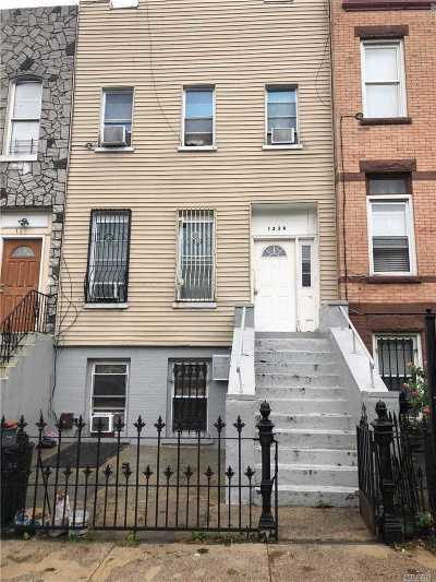Brooklyn Multi Family Home For Sale: 123a Schaefer St