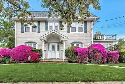 Hicksville Single Family Home For Sale: 117 4th St