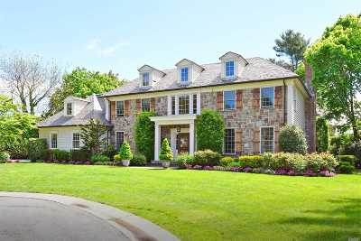 Manhasset NY Single Family Home For Sale: $4,198,000