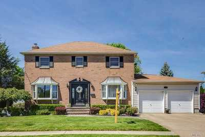 Bethpage Single Family Home For Sale: 38 Jackson Ave