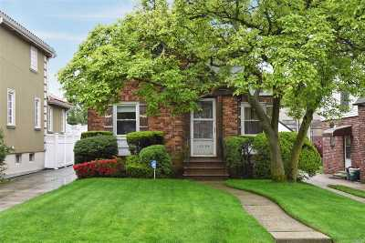 Whitestone Single Family Home For Sale: 163-54 23 Ave
