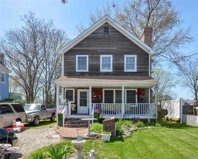 Greenport Single Family Home For Sale: 617 2nd St