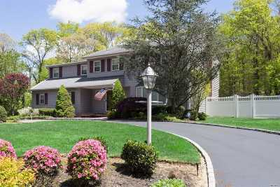 Dix Hills Single Family Home For Sale: 43 Village Hill Dr