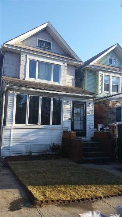 Kew Gardens, Richmond Hill Single Family Home For Sale: 123-16 85th Ave