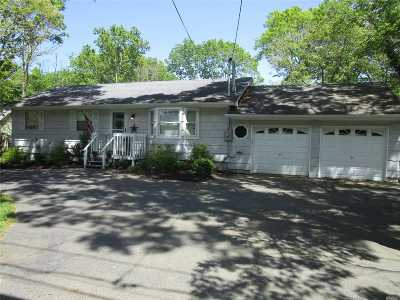 Manorville Single Family Home For Sale: 355 Wading River Rd
