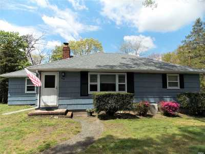 Patchogue Single Family Home For Sale: 44 Truberg Ave