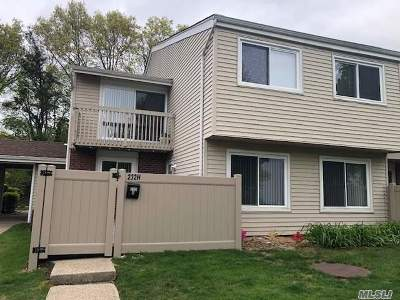 Holbrook Condo/Townhouse For Sale: 232 Springmeadow Dr #H
