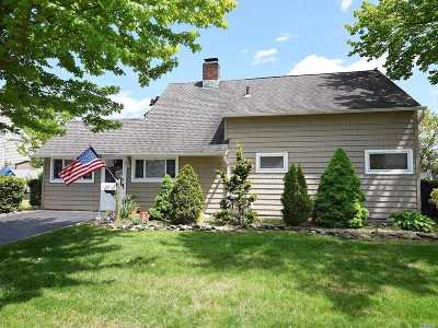 Wantagh Single Family Home For Sale: 181 Duckpond Dr