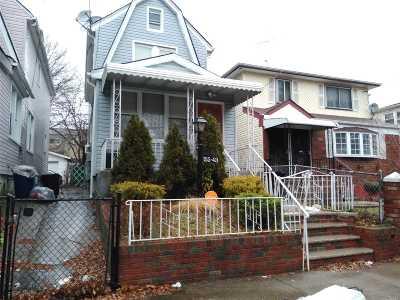 Jamaica NY Single Family Home For Sale: $465,000