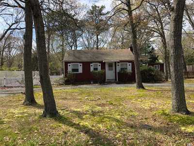 Hampton Bays Single Family Home For Sale: 14 Norbury Rd