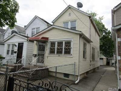 Jamaica Single Family Home For Sale: 11128 147th St