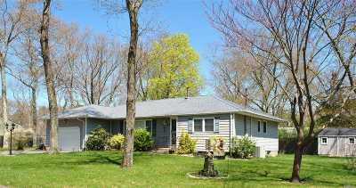 Ridge Single Family Home For Sale: 23 Nesaquake Trl