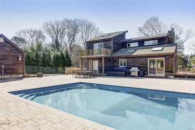 E. Quogue Single Family Home For Sale: 4 Pleasant Ln