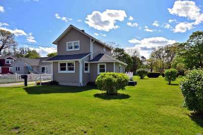 Patchogue Single Family Home For Sale: 154 Washington Ave