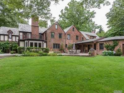 Manhasset NY Single Family Home For Sale: $3,399,000