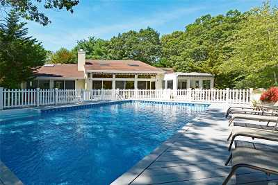 Quogue Single Family Home For Sale: 18 Midhampton Ave