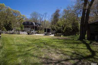 Manorville Single Family Home For Sale: 1 North St
