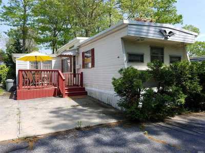 Suffolk County Single Family Home For Sale: 658- A14 Sound Ave