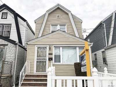 Queens County Single Family Home For Sale: 130-11 95 Ave