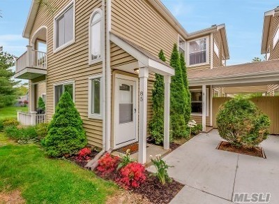 Middle Island Condo/Townhouse For Sale: 85 Eric Dr