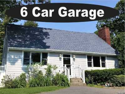 Center Moriches Single Family Home For Sale: 128 Holiday Blvd