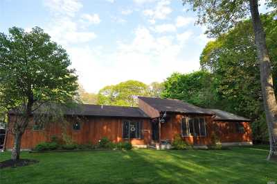 Center Moriches Single Family Home For Sale: 67 Belleview Ave