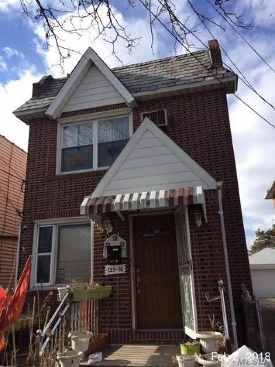 Queens County Single Family Home For Sale: 135-16 115th St