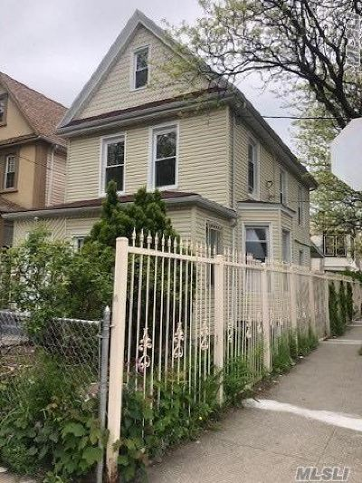 Jamaica NY Single Family Home For Sale: $599,999