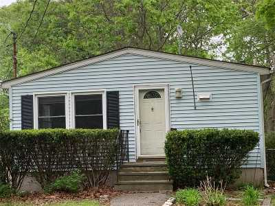Mastic Beach Single Family Home For Sale: 153 Mayfield Drive