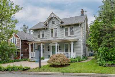 Oyster Bay Single Family Home For Sale: 19 Pearl St