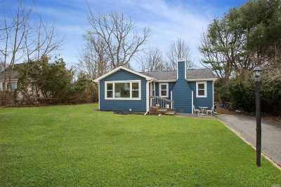 Suffolk County Single Family Home For Sale: 4 E Jackwill Rd