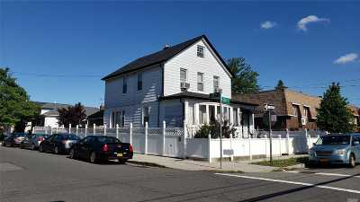 Queens County Single Family Home For Sale: 25-30 124 St