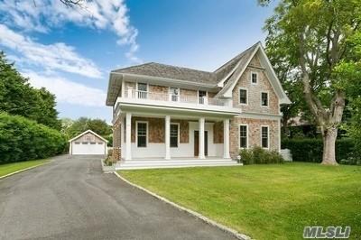 Southampton NY Single Family Home For Sale: $2,995,000