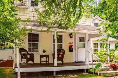 Port Jefferson Single Family Home For Sale: 310 Thompson St