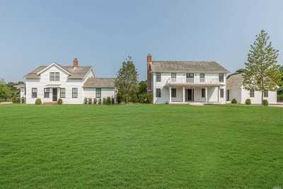 Sagaponack Single Family Home For Sale: 172 Narrow Ln