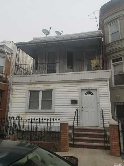 Brooklyn Multi Family Home For Sale: 343 E 26th St