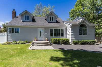 Commack Single Family Home For Sale: 7 Tulip Ln