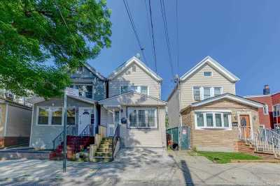 Woodhaven Single Family Home For Sale: 86-12 77 St