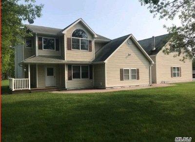 Manorville Single Family Home For Sale: 209 Wad River Mnrvl Rd