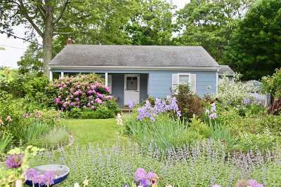 Cutchogue Single Family Home For Sale: 2900 Pequash Ave