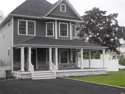 Wantagh Single Family Home For Sale: 3434 Edgerton Ave