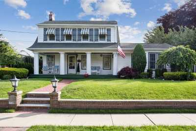 Rockville Centre Single Family Home For Sale: 22 Vassar Pl