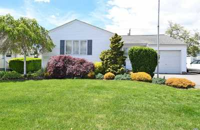 Hicksville Single Family Home For Sale: 98 Cornell Ln