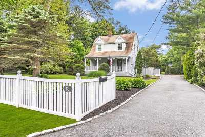 Bayport Single Family Home For Sale: 80 S Fairview Ave