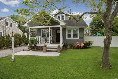 W. Sayville Single Family Home For Sale: 46 3rd St